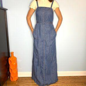 GAP maxi dress Super cute overalls style in denim